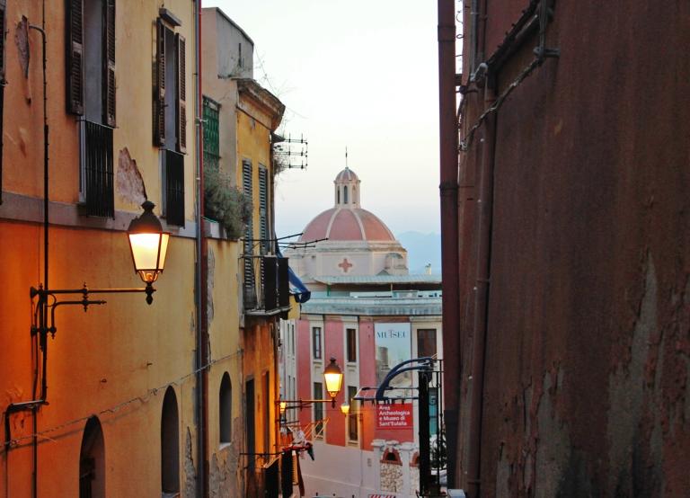 Vicoli e viuzze a Cagliari