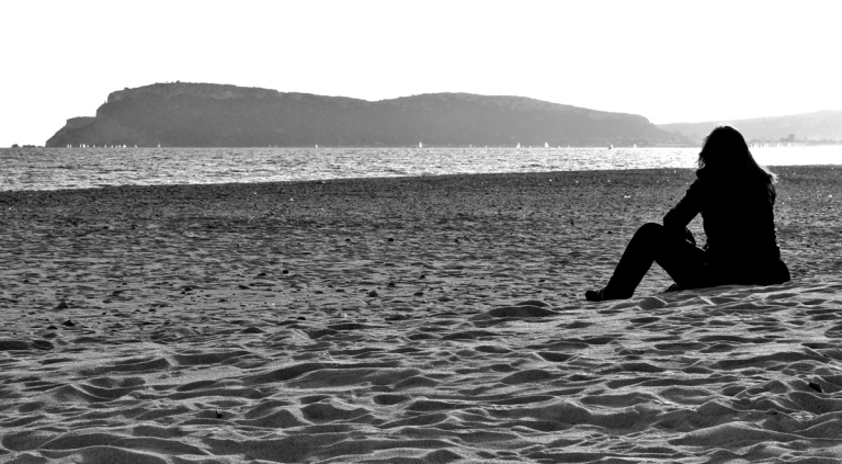 Anche i pensieri, davanti al mare, sembrano più leggeri