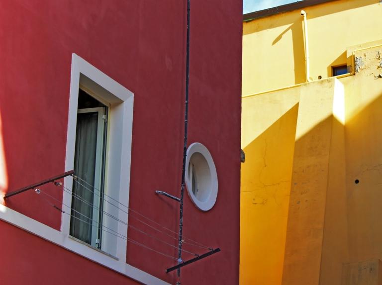 Rosso e giallo.